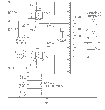 Power Amp Circuit