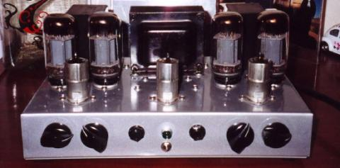 Stereo Power Amp (front view)