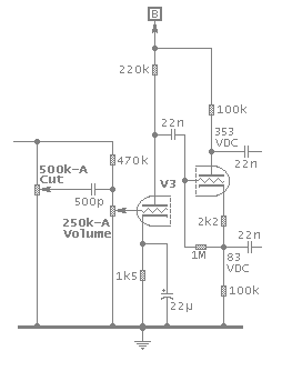 Phase inverter circuit schematic image