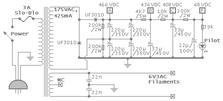 Power supply schematic image
